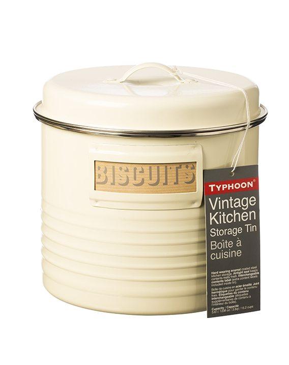 Typhoon Vintage Kitchen Cream Large Storage Canister