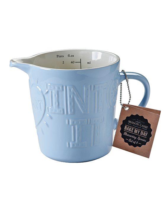 Mason Cash Bake My Day Blue 1 Litre Measuring Jug