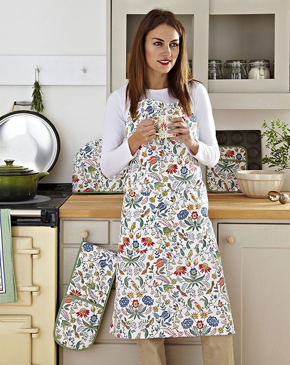 Ulster Weavers Arts & Crafts Cotton Apron