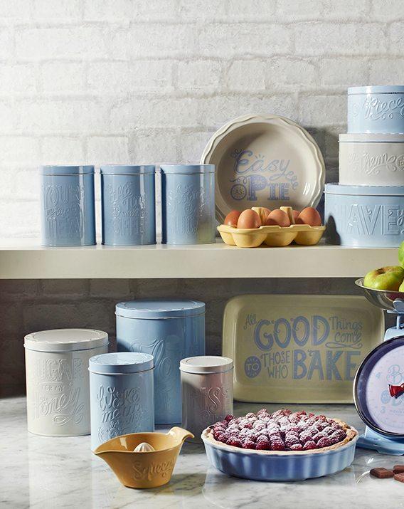 Mason Cash Bake My Day Set of 4 Baking Storage